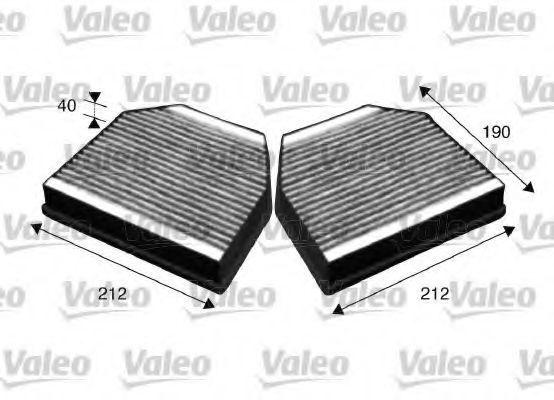 Фильтр, воздух во внутренном пространстве VALEO PHC 715621