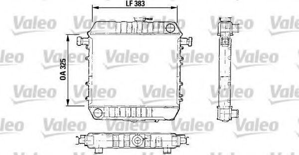 Радиатор, охлаждение двигателя VALEO 730150