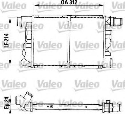 Радиатор охлаждения VALEO 730519