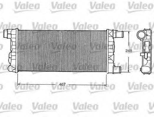 Радиатор охлаждения VALEO 730520