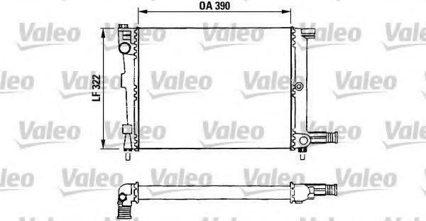 Радиатор охлаждения VALEO 730632