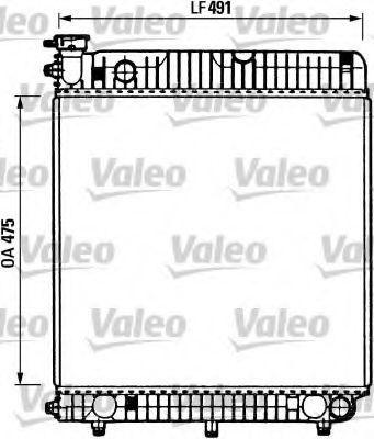Радиатор охлаждения VALEO 730883