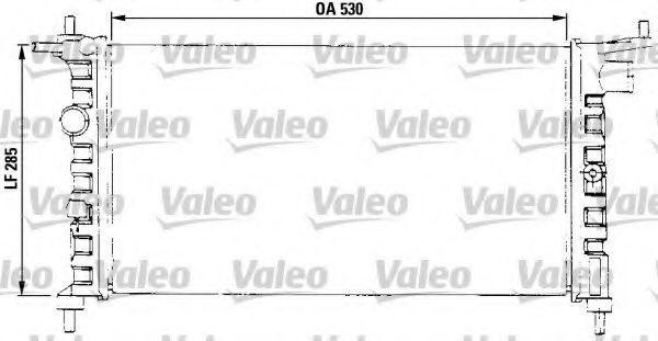 Радиатор охлаждения VALEO 731013