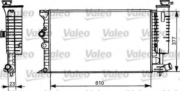 Радиатор охлаждения VALEO 731298