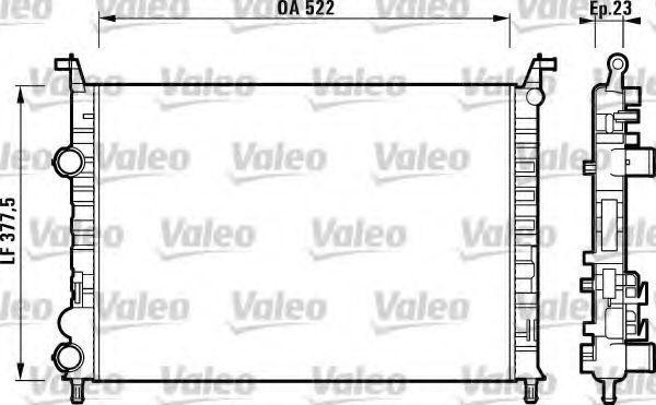 Радиатор охлаждения VALEO 732948