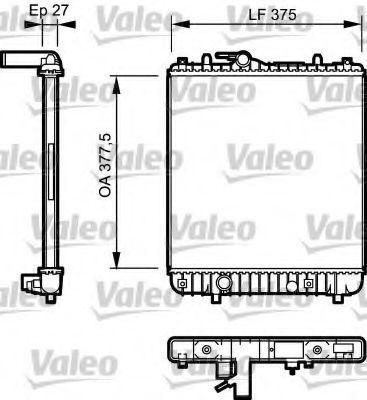 Радиатор охлаждения VALEO 734330
