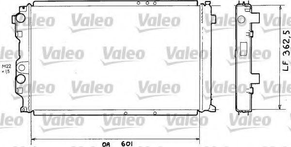 Радиатор, охлаждение двигателя VALEO 810920
