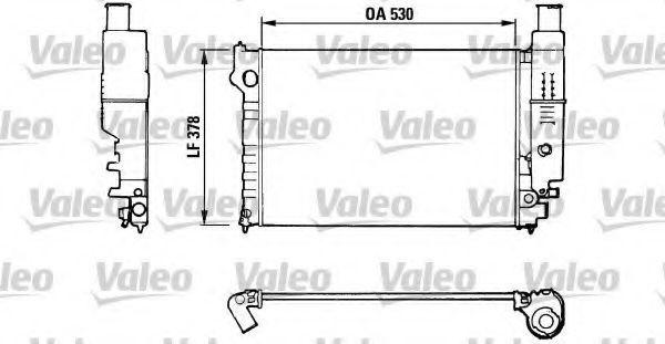 Радиатор охлаждения VALEO 816554