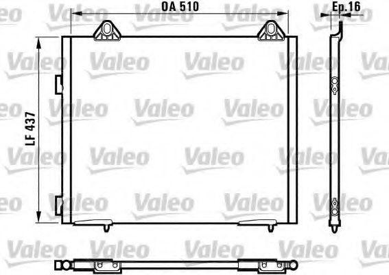 Конденсор кондиционера VALEO 817067