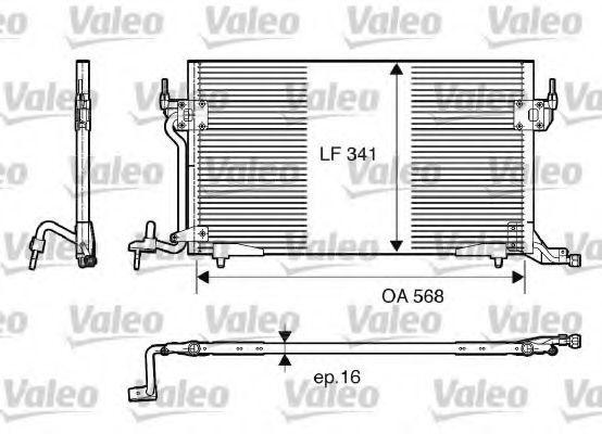 Конденсор кондиционера VALEO 817230