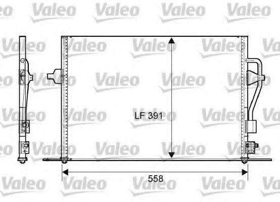 Радиатор кондиционера VALEO 817232