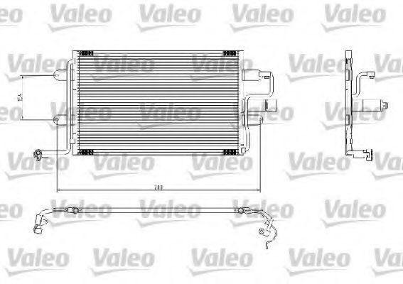 Радиатор кондиционера VALEO 817244