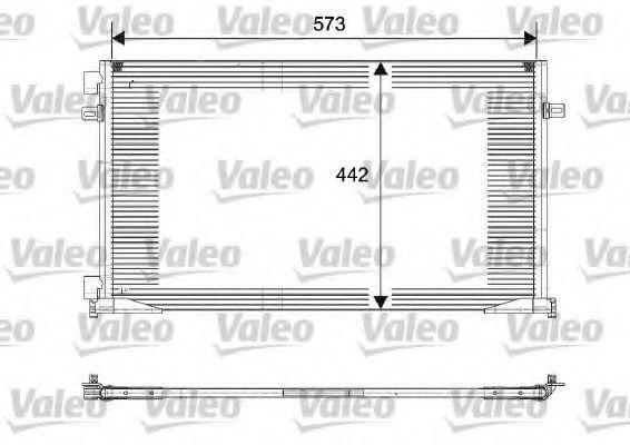 Радиатор кондиционера VALEO 817644