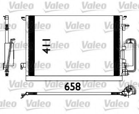 Радиатор кондиционера VALEO 817647
