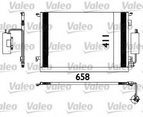 Радиатор кондиционера VALEO 817648