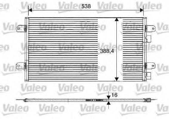 Конденсор кондиционера VALEO 817701