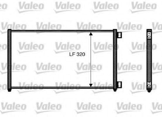 Радиатор кондиционера VALEO 818017