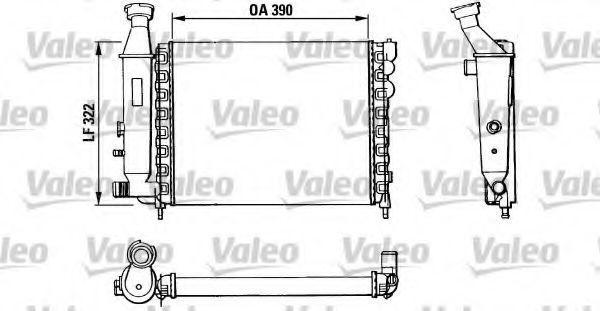 Радиатор охлаждения VALEO 883866