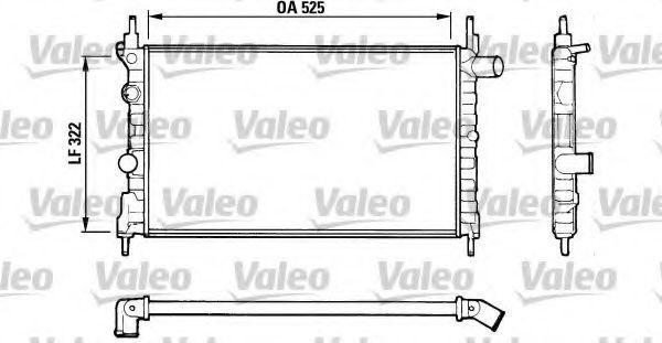 Радиатор охлаждения VALEO 883881