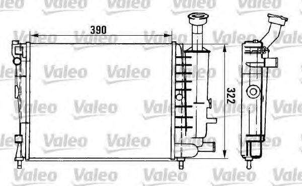 Радиатор охлаждения VALEO 961149