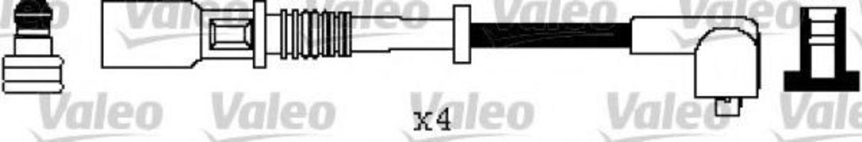 Провода высоковольтные комплект VALEO 346555