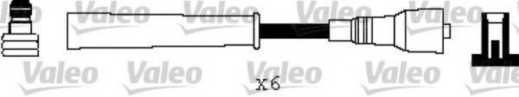 Провода высоковольтные комплект VALEO 346540