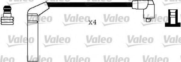 Провода высоковольтные комплект VALEO 346354