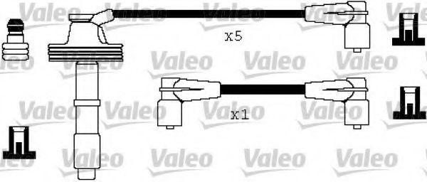 Провода высоковольтные комплект VALEO 346327