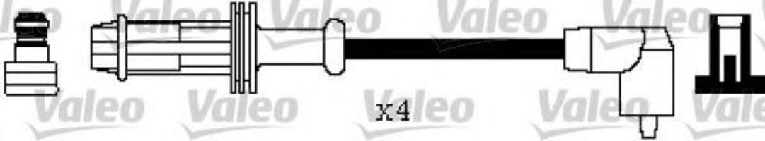 Провода высоковольтные комплект VALEO 346299
