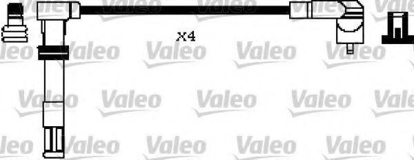 Провода высоковольтные комплект VALEO 346196