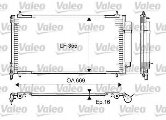 Конденсор кондиционера VALEO 814065