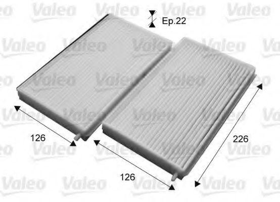 Фильтр, воздух во внутренном пространстве VALEO 715657