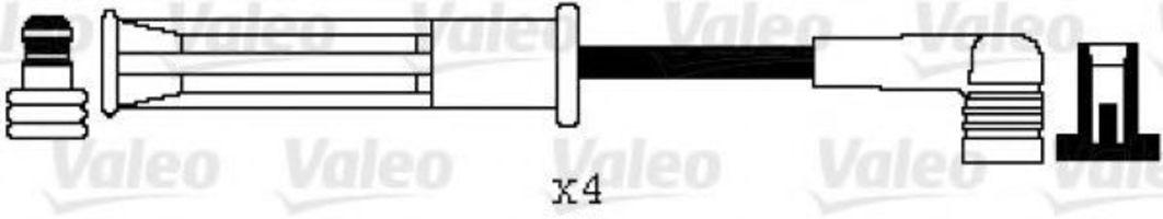 Комплект проводов зажигания VALEO 346094