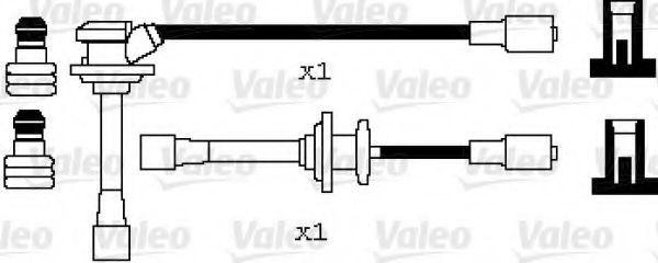 Провода высоковольтные комплект VALEO 346083