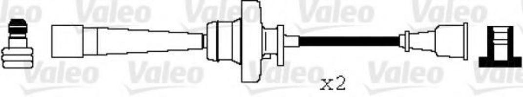 Провода высоковольтные комплект VALEO 346067