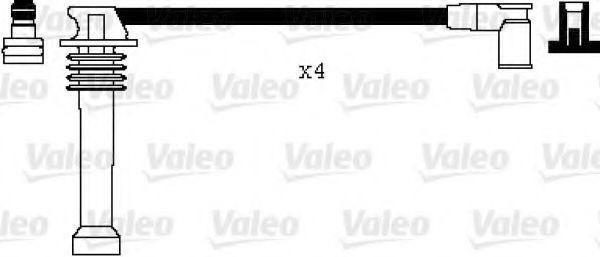 Провода высоковольтные комплект VALEO 346008