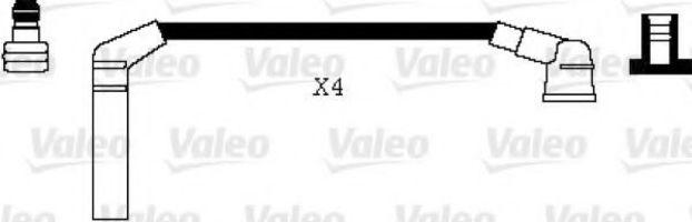 Провода высоковольтные комплект VALEO 346006