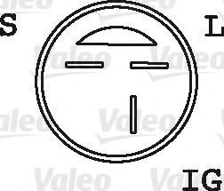 Генератор VALEO 437766