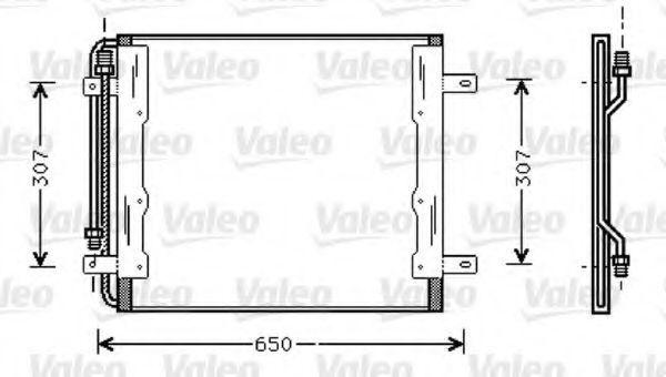 Конденсатор, кондиционер VALEO 818035