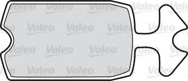 Комплект тормозных колодок, дисковый тормоз VALEO 598144