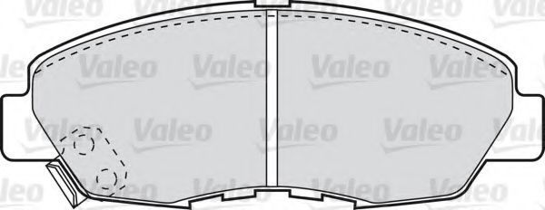 Колодки тормозные VALEO 598788