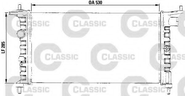 Радиатор охлаждения VALEO 231013