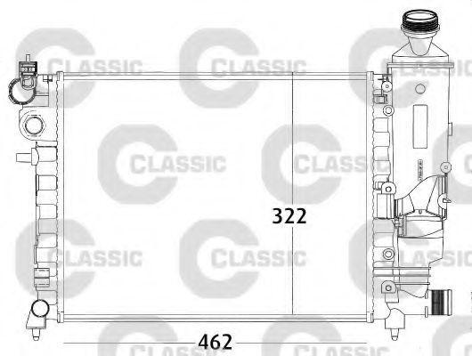 Радиатор охлаждения VALEO 231498