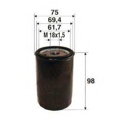 Масляный фильтр VALEO PHC 586078