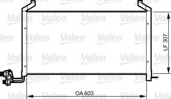 Конденсатор, кондиционер VALEO 814317