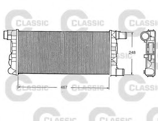 Радиатор охлаждения VALEO 230520