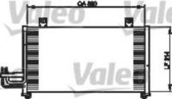 Конденсатор, кондиционер VALEO 814337