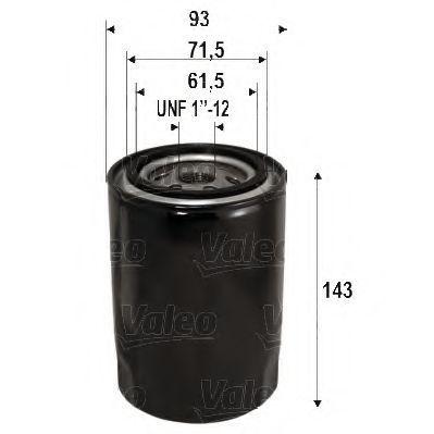 Масляный фильтр VALEO 586105