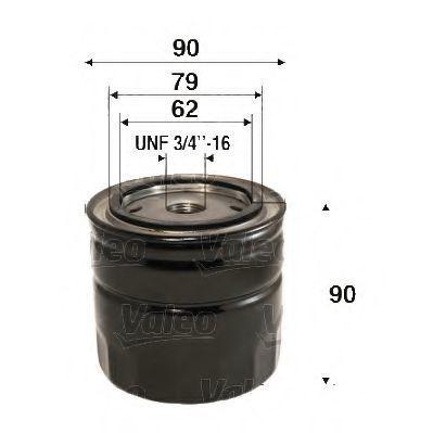 Фильтр масляный VALEO 586088