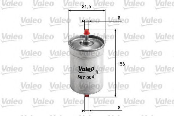 Фильтр топливный VALEO 587004
